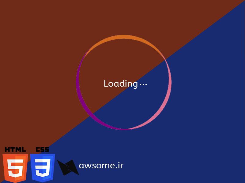 Code Speed – ساخت سریع صفحه لودینگ – Loading